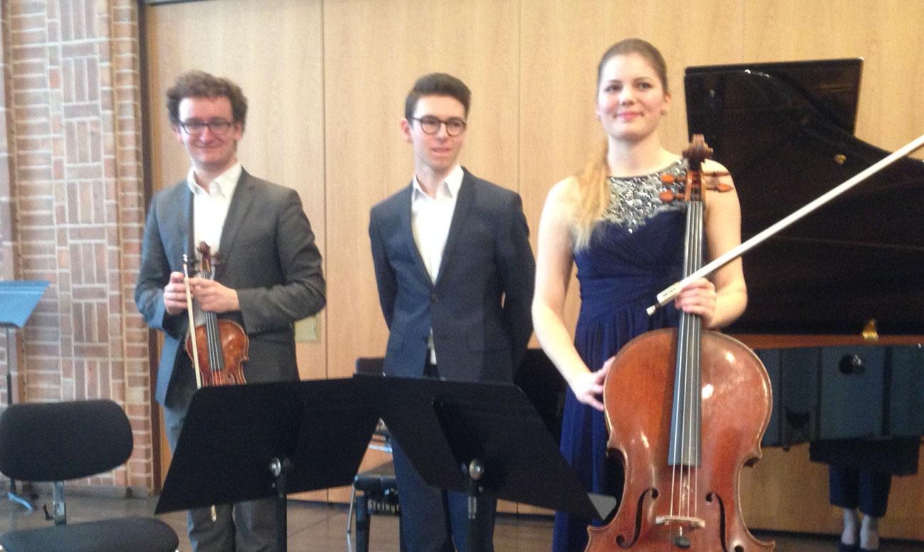 1. Preisträger des Kammermusikwettbewerbs